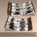 آتلیه هنری راد، طراحی گرافیک، علی تیموری راد، Rad Studio Art، کاتالوگ، بروشور، سه لت، میز ال سی دی