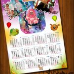 طراحی تقویم، دیواری، مودک، آتلیه هنری راد، علی تیموری راد